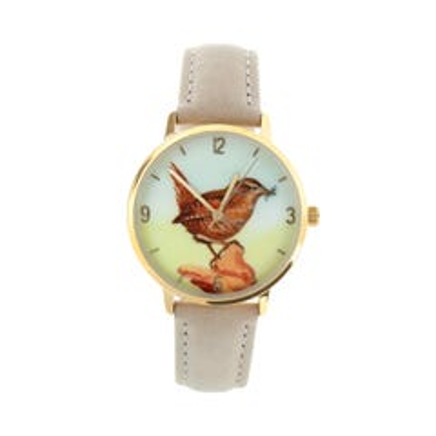 Jenny Wren Watch by Anglessey Artist Rachel Hooton