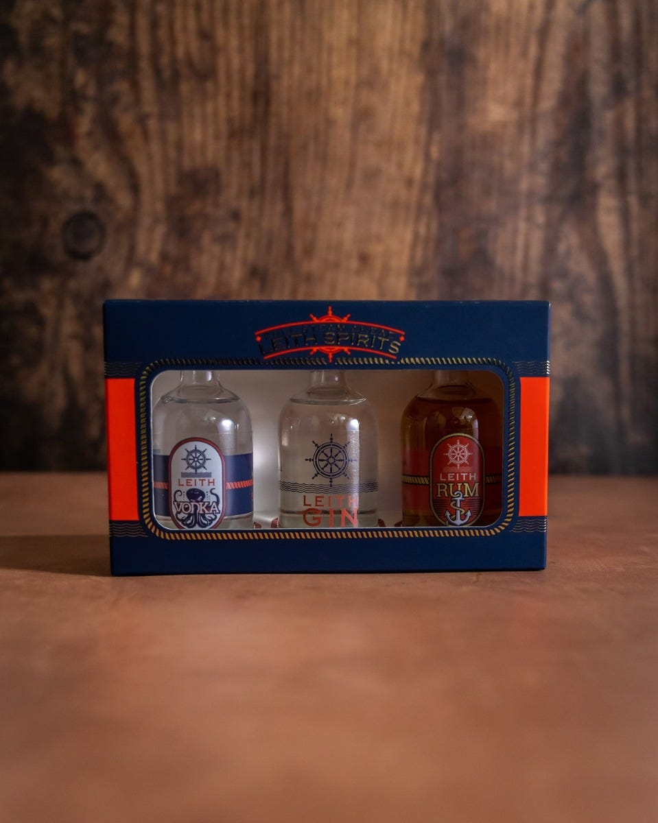 Product image for Leith Spirits Miniature Gift Set