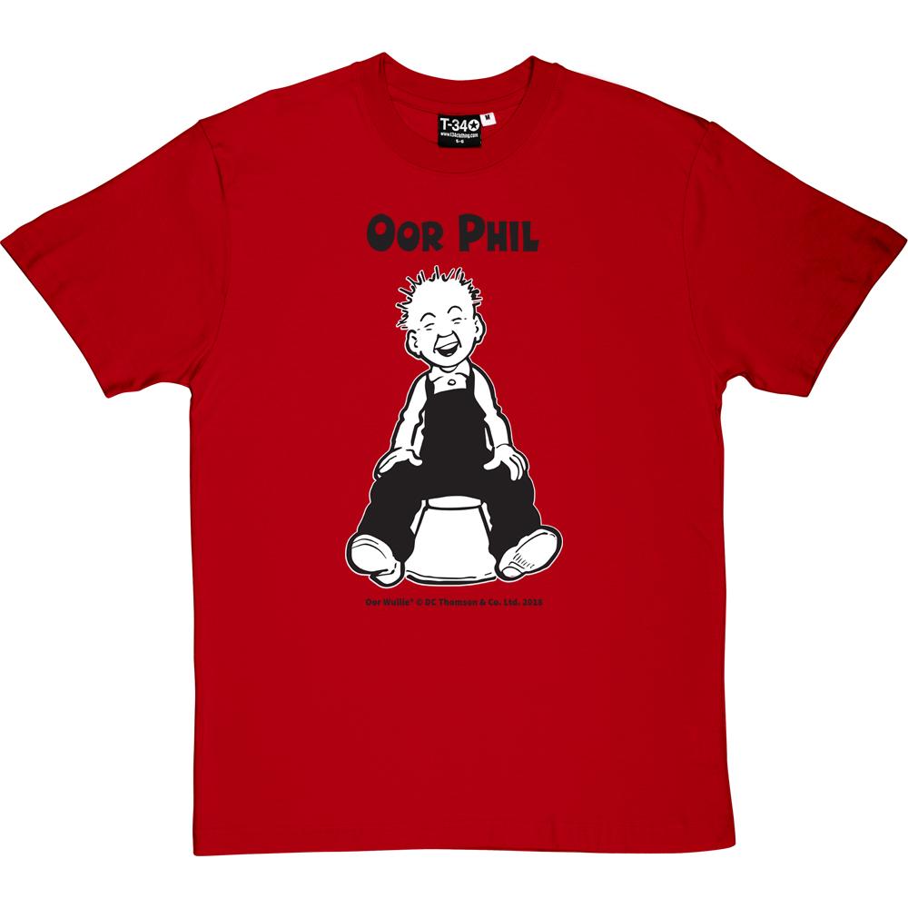 Oor Wullie Bucket Personalised T-shirt