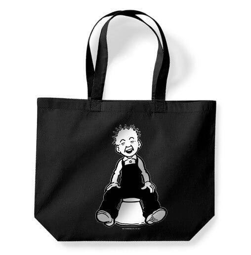 Oor Wullie Black Tote Bag