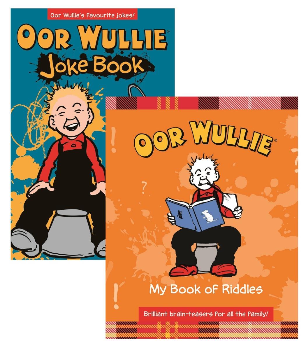 Oor Wullie Jokes & Riddles Pack
