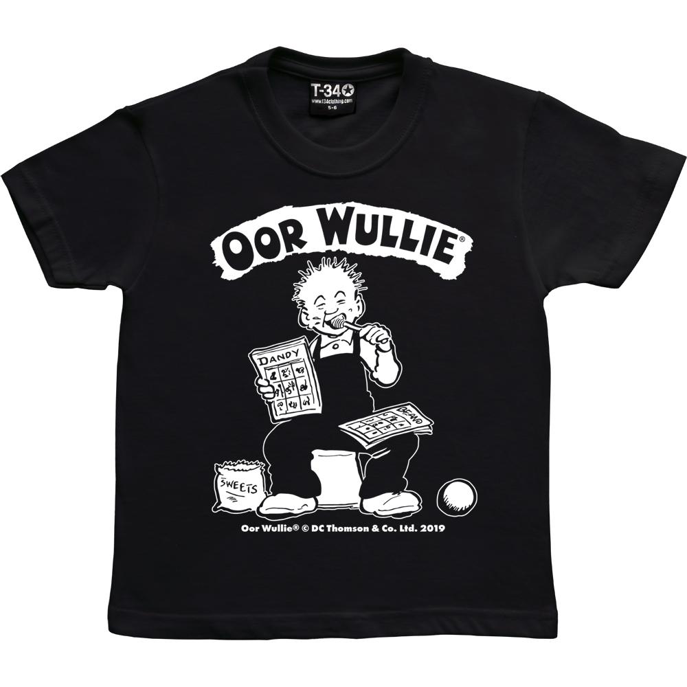 Oor Wullie with Lollipop Kids T-shirt