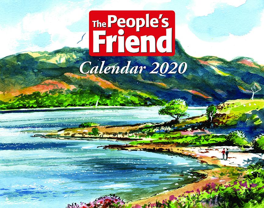 The People's Friend Calendar 2020