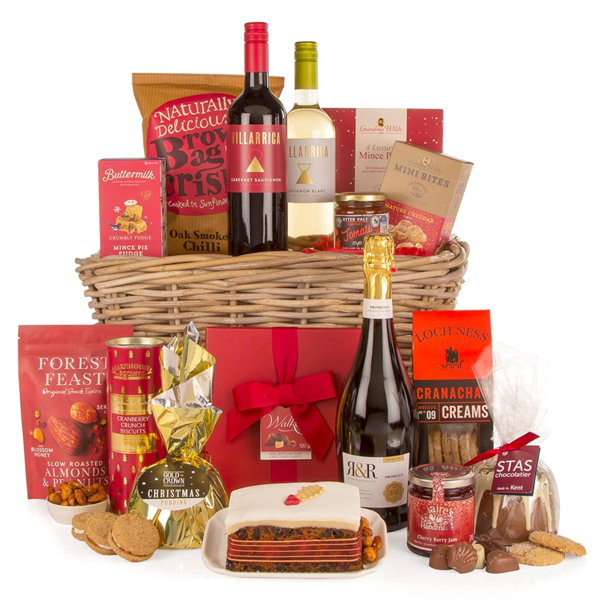 Image of Taste Of Christmas Basket Hamper