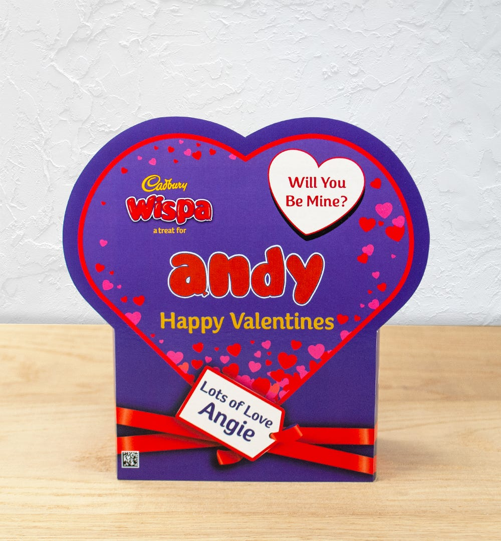 Product image for Cadbury Favourites Wispa Valentine
