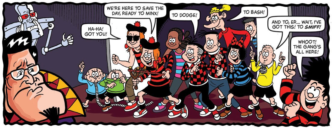 Beano 4000th Issue