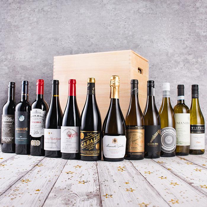 Classic Mix Wine Gift Set - 12 bottles