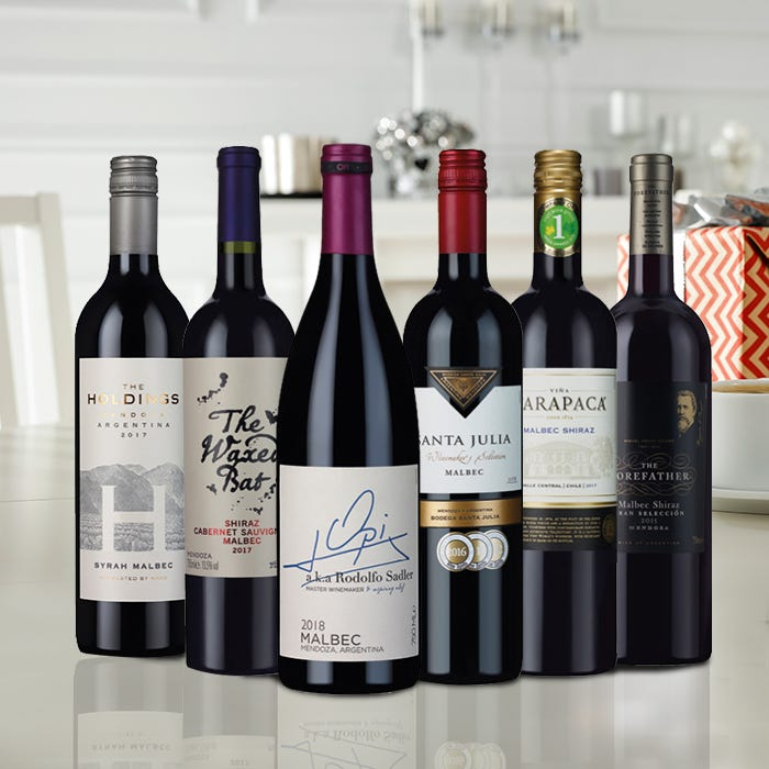 Classic Malbec Wine Selection - 6 bottles