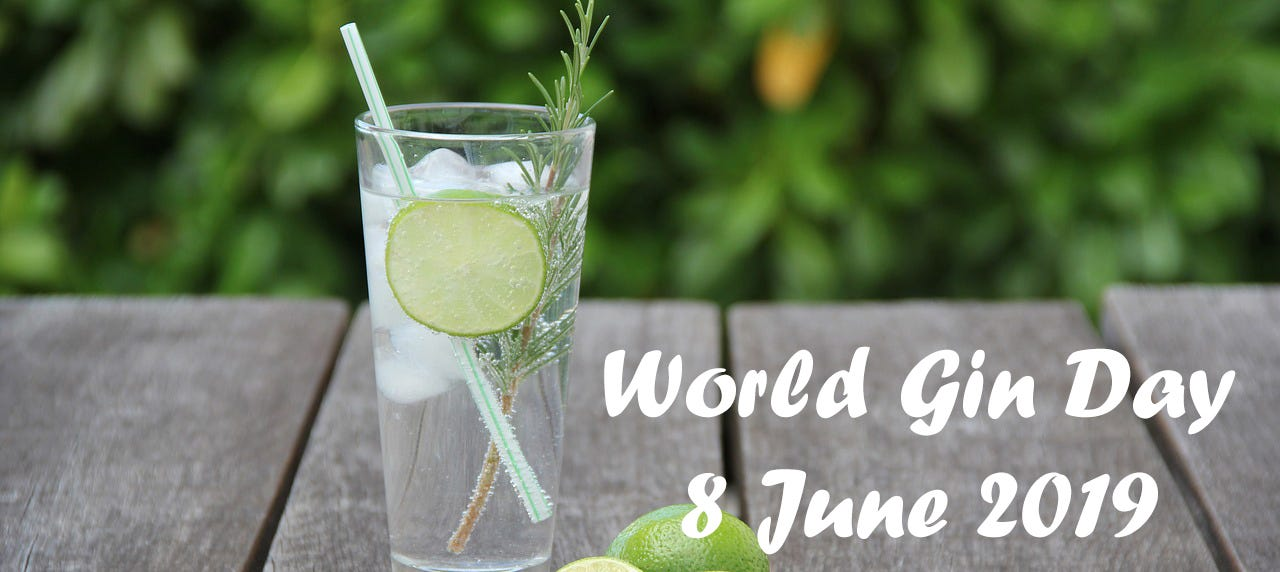World Gin Day - Day 1