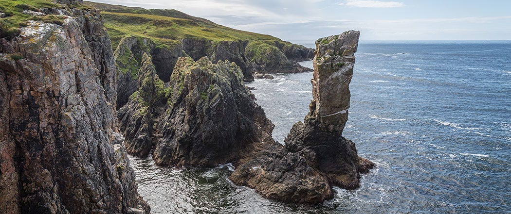 Soldier's Rock Islay