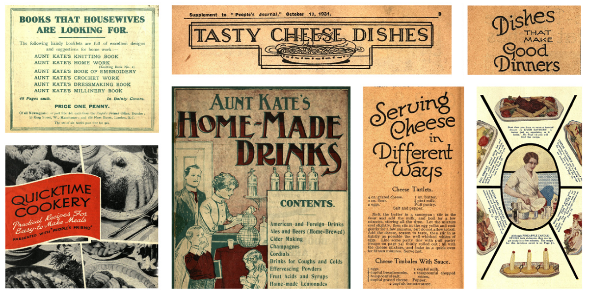 1950s Recipes and Cooking Tips
