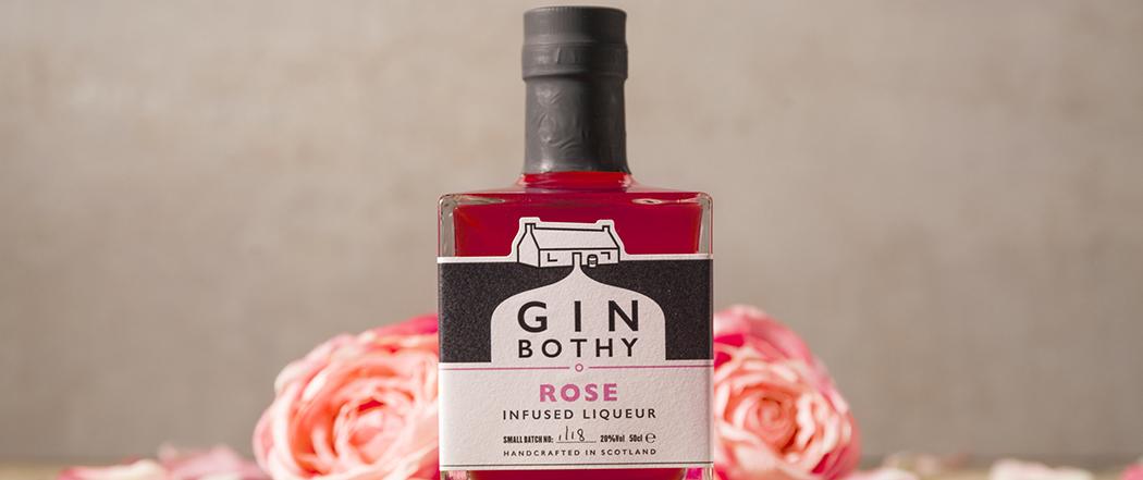 Gin Bothy Rose Gin