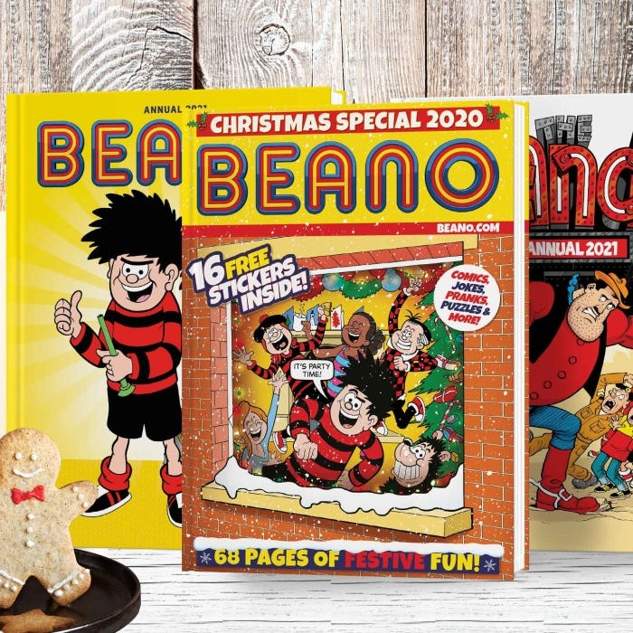 Beano Double Trouble Christmas Special Pack