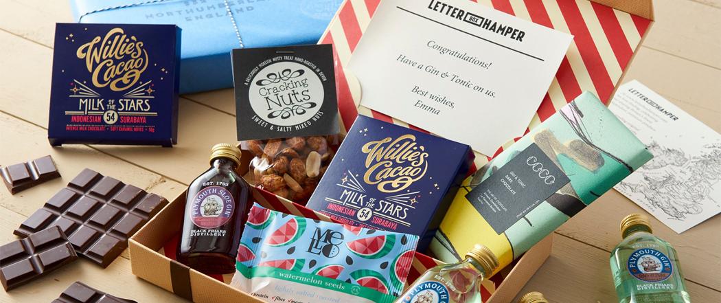 Gin Letter Box Hamper