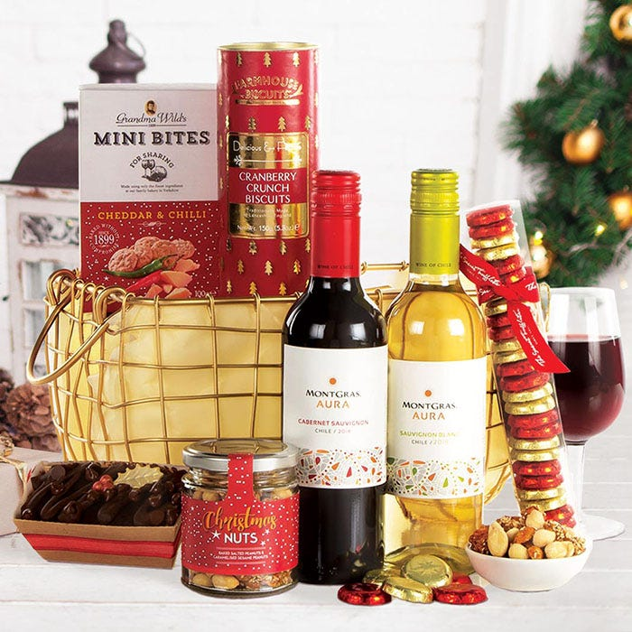 Merry Christmas Basket Hamper