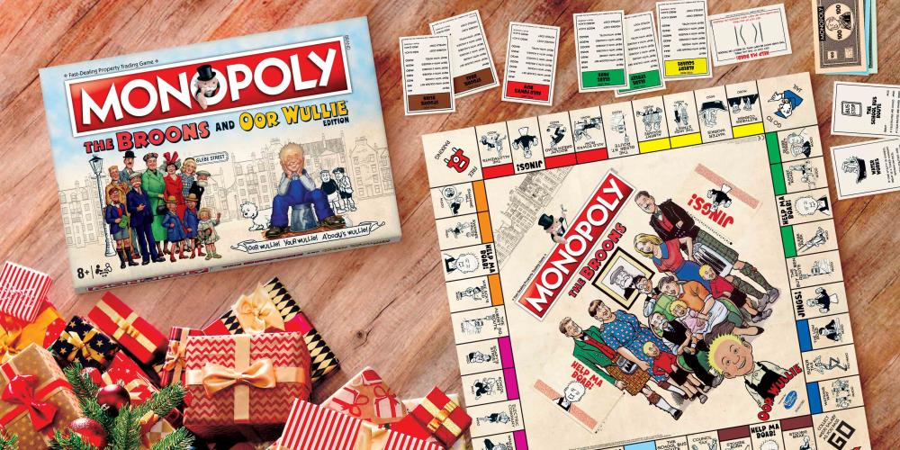 The Broons and Oor Wullie Monopoly