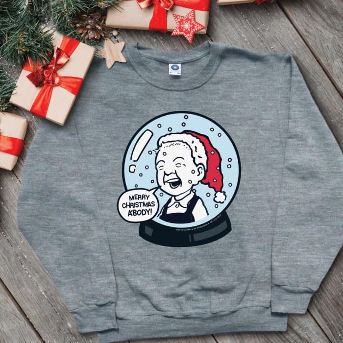 Oor Wullie Snowglobe Christmas Jumper