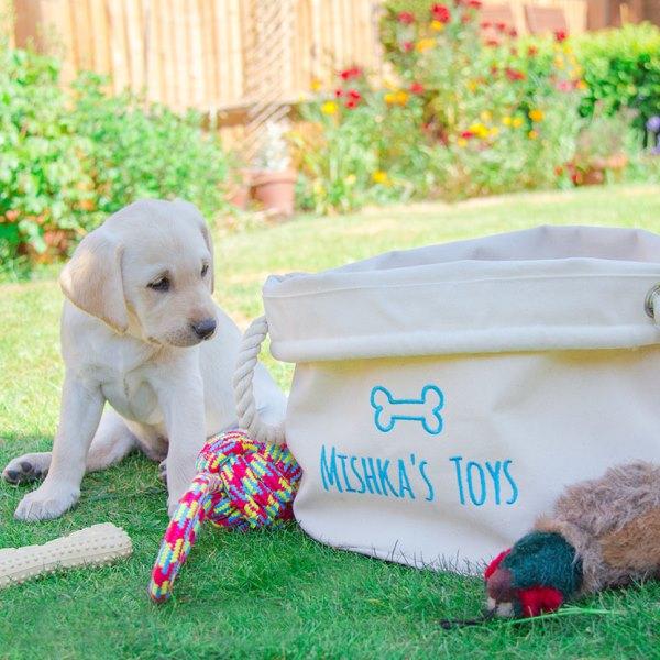 Dog Toy Storage Bag