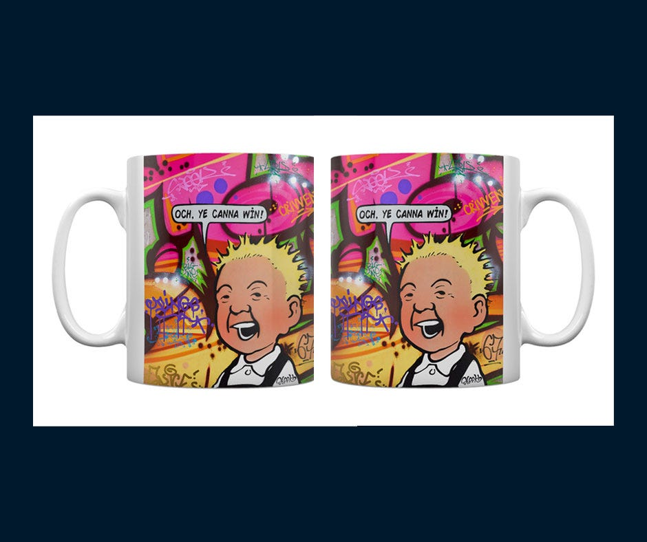 Oor Wullie Mug Set Competition