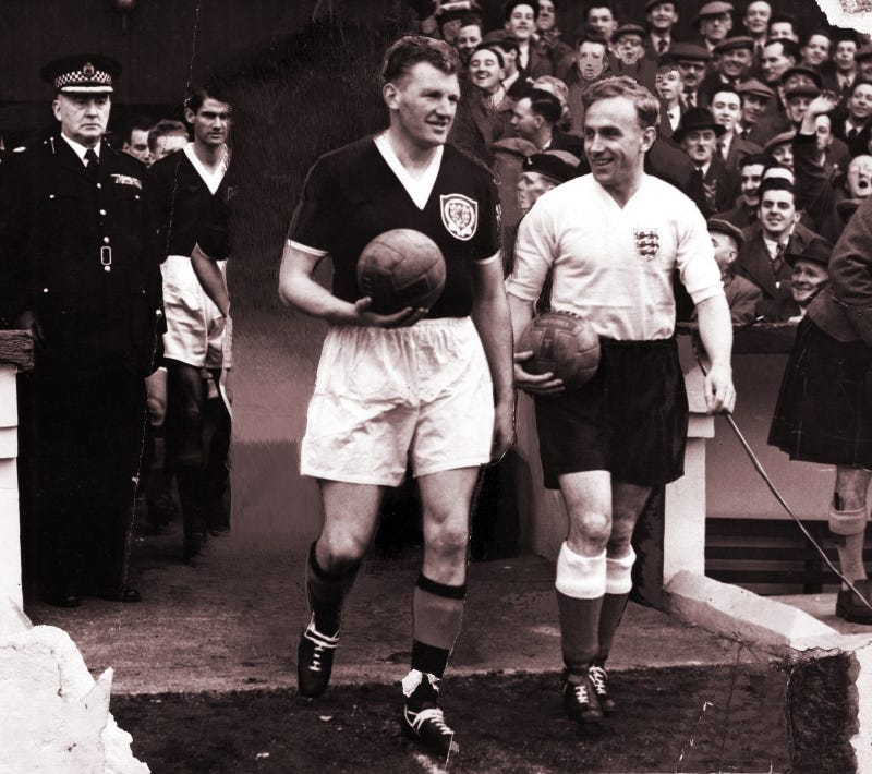 George Young and Billy Wright