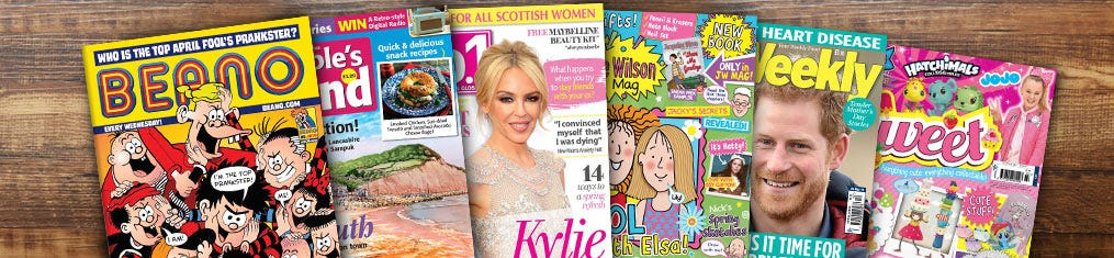 Magazine Gift Subscription Category Banner