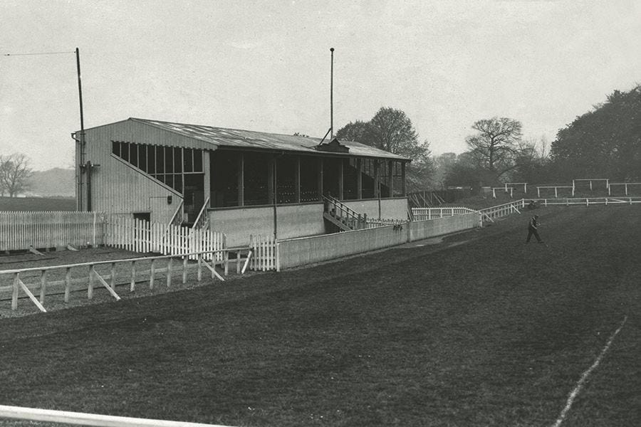 Palmerston Park Grandstand