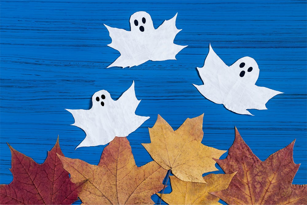 Ghost Leaves Deadly Decorations